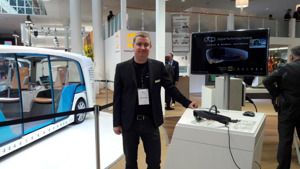 DTP at HARTING booth - 2018 Hannover Messe