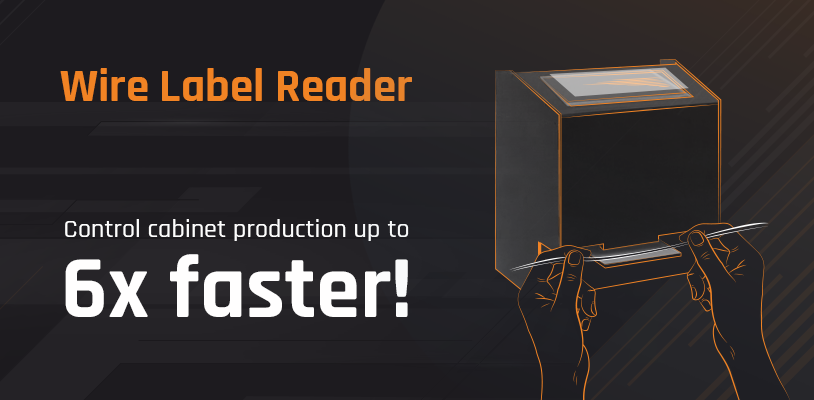 Control cabinet production 6x faster!